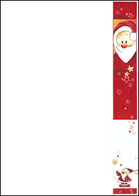 weihnachtsbriefpapier nikolaus a4. Black Bedroom Furniture Sets. Home Design Ideas