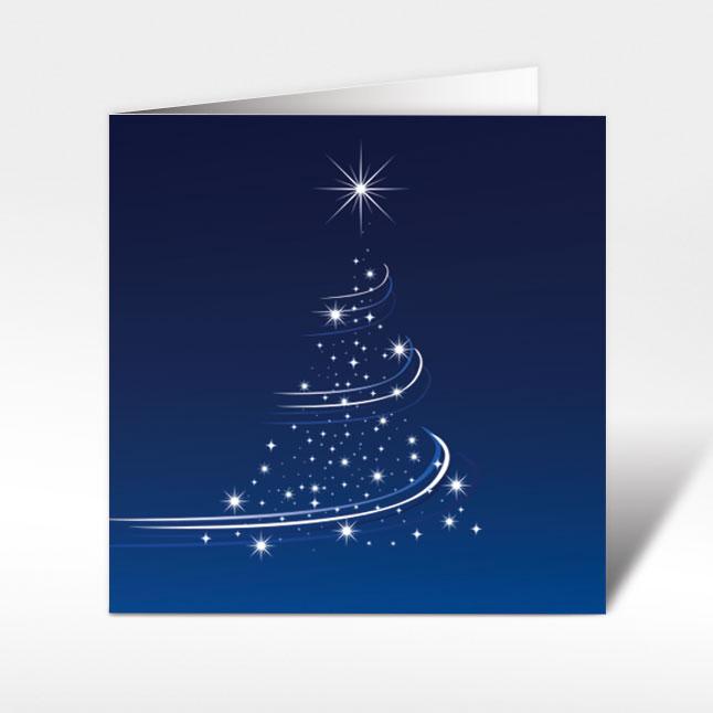 weihnachtskarten mit christbaum 150 x 150 mit couvert. Black Bedroom Furniture Sets. Home Design Ideas