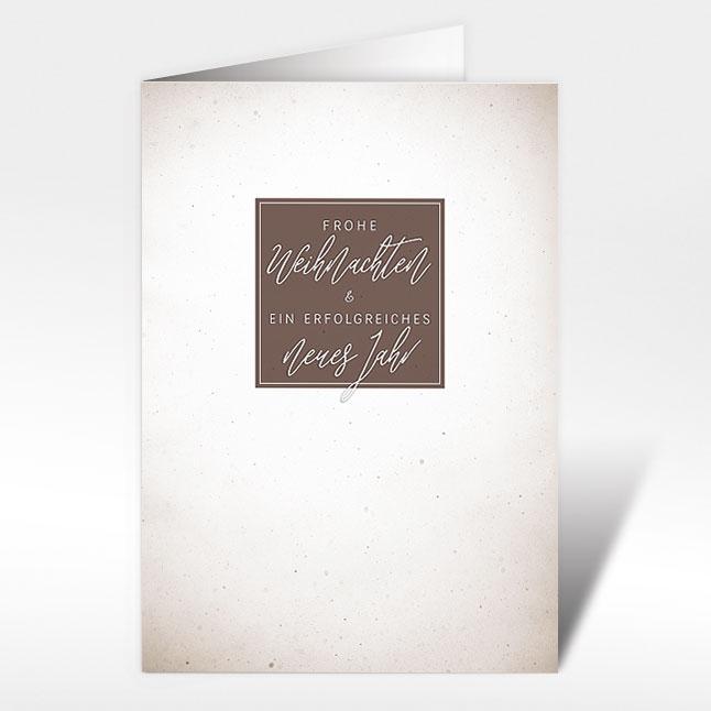 Moderne Weihnachtskarten.Weihnachtskarten Moderne Weihnachtsgrusse A5 Mit Couvert