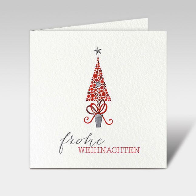 weihnachtskarten weihnachtsbaum frohe weihnachte 150 x. Black Bedroom Furniture Sets. Home Design Ideas