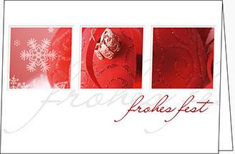 weihnachtskarten fest der sinne a5 quer mit couvert. Black Bedroom Furniture Sets. Home Design Ideas