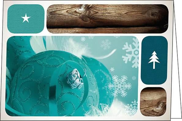 neujahrskarten wood a5 quer mit couvert. Black Bedroom Furniture Sets. Home Design Ideas