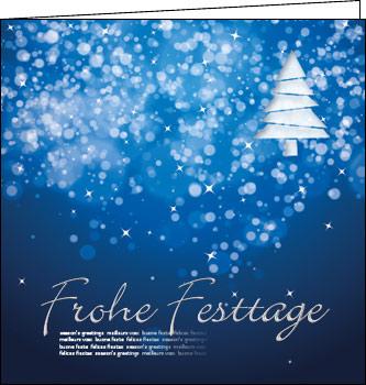 weihnachtskarten mit silberne weihnacht frohe festtage. Black Bedroom Furniture Sets. Home Design Ideas